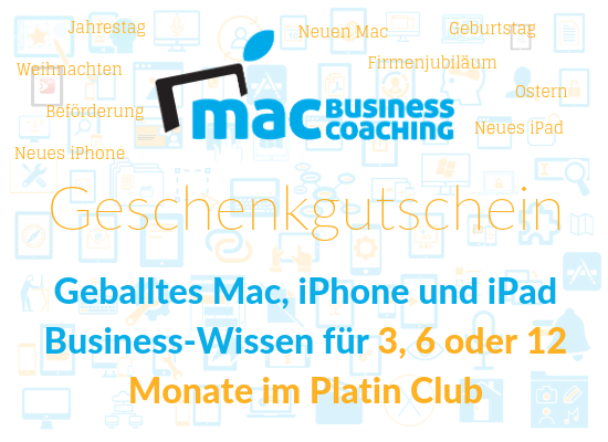 Mac Business Coaching - Start