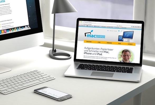 [Kostenloses Webinar] Hochproduktiv arbeiten mit Mac, iPhone, iPad - Schneller und entspannter mit diesen 5 Bausteinen