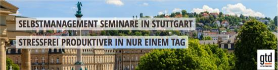 """Das Original Getting Things Done-Seminar für alle: """"Den Arbeitsfluss meistern"""" am 27. Juni in Stuttgart"""